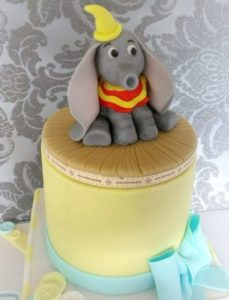 Baby Shower Cute Dumbo Cake