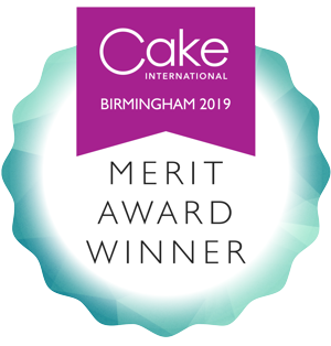 Cake international 2019 Merit award Carnforth Cake Maker